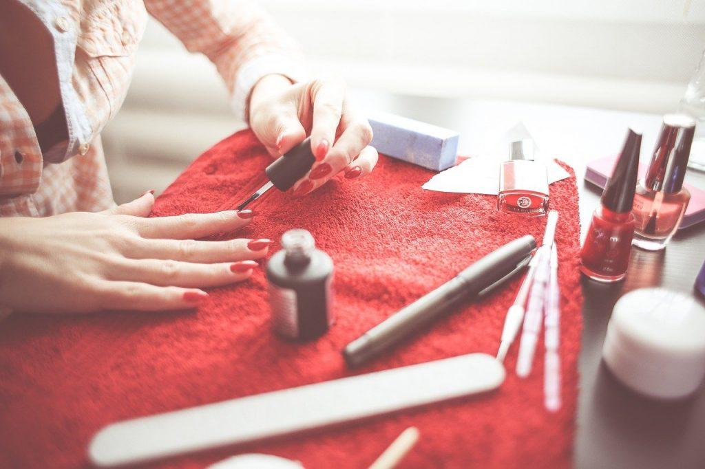 préparation des ongles